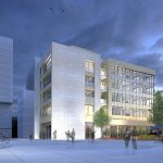 Belval-Residence-Office-Appartement-Commerce-Bureaux-Haut-standing-Architecte-CFA-CFArchitectes-Luxembourg-Square-Mile-Place-Esplanade-Nuit-Night