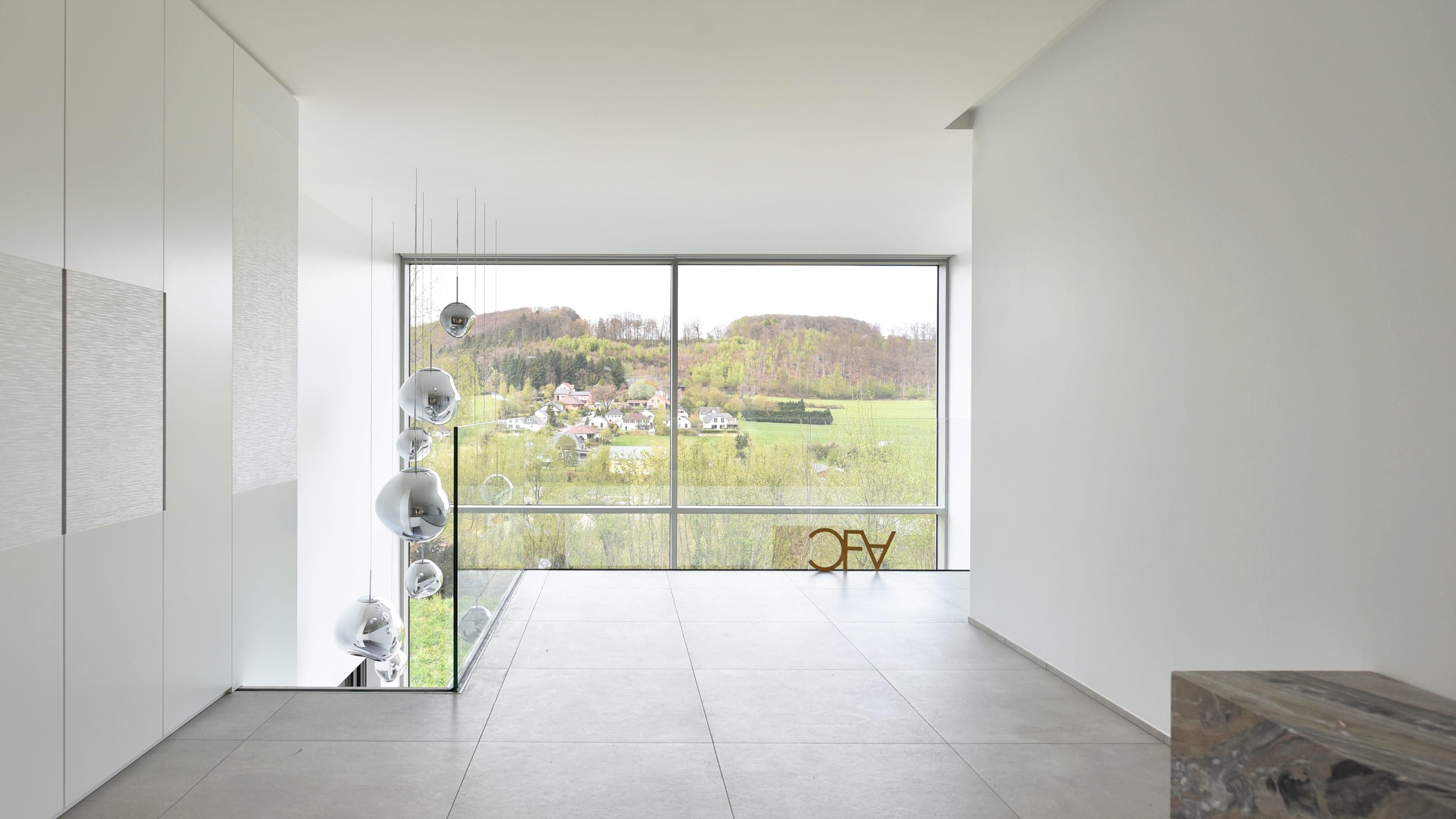 roodt villa haut standing architecte cfa cfarchitectes luxembourg luxe marbre pierre mur rideau. Black Bedroom Furniture Sets. Home Design Ideas